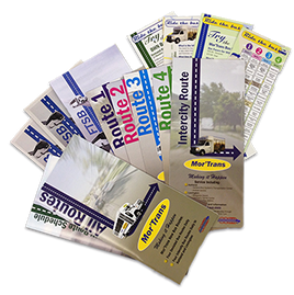Route Books & Brochures