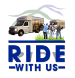 Ride with us logo